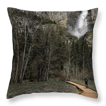 Memories Of Yosemite Throw Pillow by Eduard Moldoveanu