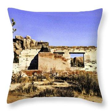 Throw Pillow featuring the painting Memory by Muhie Kanawati