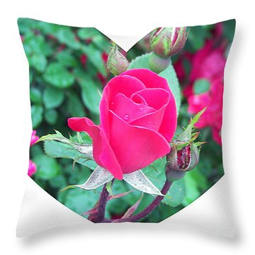 Memory Of A Mother's Love  Throw Pillow by Pamela Hyde Wilson