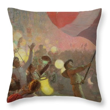 Memory Of The National Festival Throw Pillow