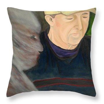 Memory's Widow Throw Pillow by Lisa Brandel