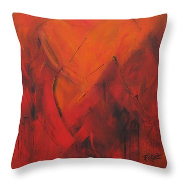Mending Hearts Throw Pillow