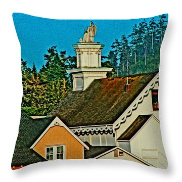 Mendocino California Throw Pillow