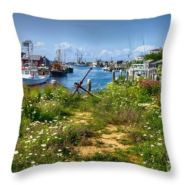 Menemsha Throw Pillow