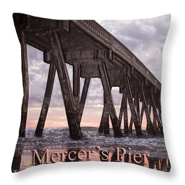 Mercer's Pier Throw Pillow