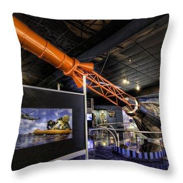 Mercury Capsule Throw Pillow