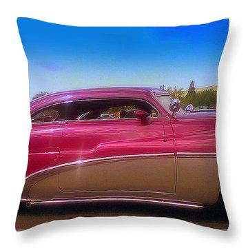 Mercury Rising Throw Pillow by Bobbee Rickard