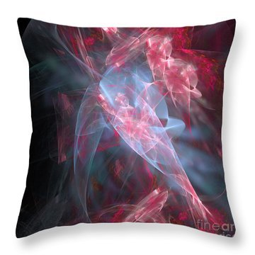 Throw Pillow featuring the digital art Mercy And Truth Have Met Together Righteousness And Peace Have Kissed by Margie Chapman
