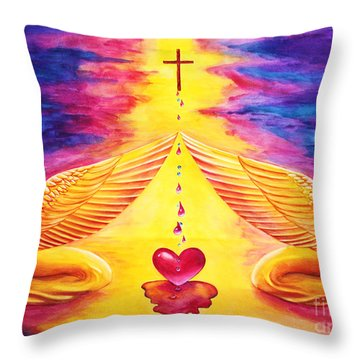 Mercy Throw Pillow