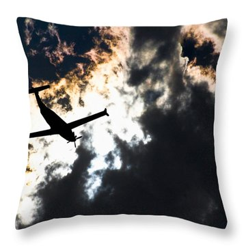 Mercy One Throw Pillow