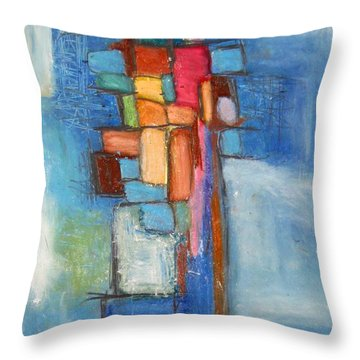 Merge Throw Pillow by Venus