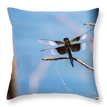 Merrill Creek Dragonfly Throw Pillow