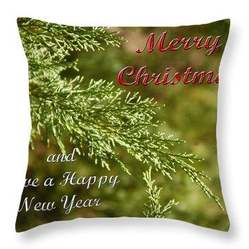 Merry Christmas 01 Throw Pillow