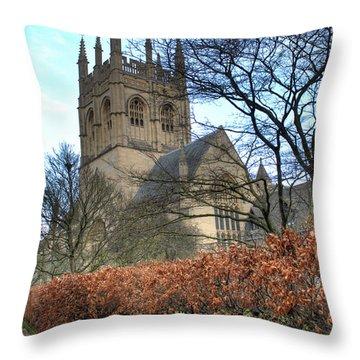 Merton College Chapel Throw Pillow