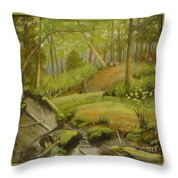 Merville Bc  Throw Pillow