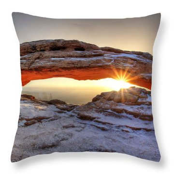 Mesa Sunburst Throw Pillow