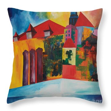 Mesmerized Throw Pillow by PainterArtist FIN