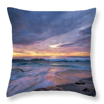 Mesmerizing Beauty Throw Pillow