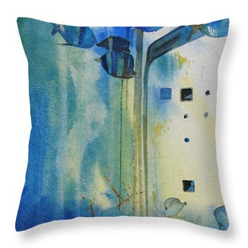 Mesmerizing  Throw Pillow