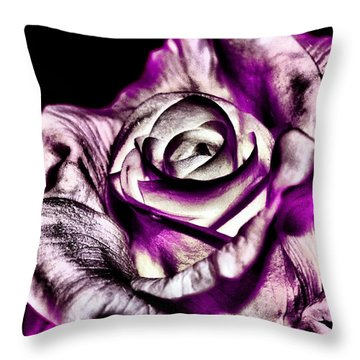 Mesmerizing Rose Throw Pillow