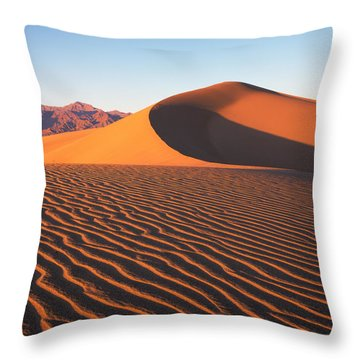 Mesquite Dunes 1-sq Throw Pillow