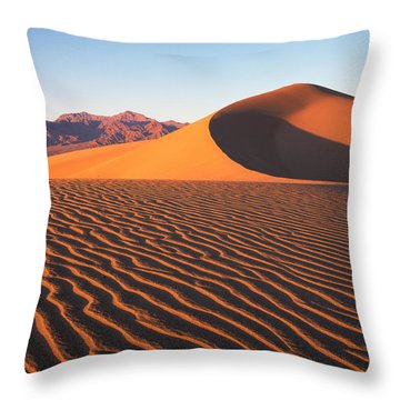 Mesquite Dunes 1 Throw Pillow