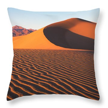 Mesquite Dunes 1-v Throw Pillow