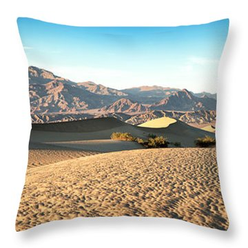 Mesquite Dunes Pano Throw Pillow