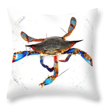 Mess With Me............sold. Throw Pillow