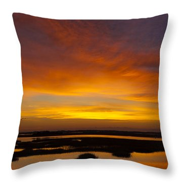 Message From The Universe  Sunrise Photograph By Jo Ann Tomaselli Throw Pillow