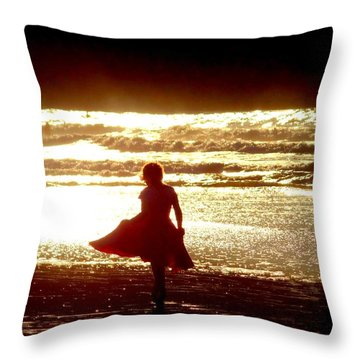 Message Throw Pillow