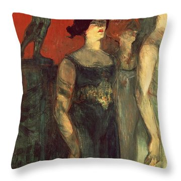 Messalina Throw Pillow