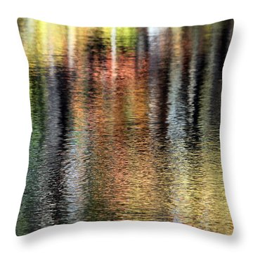 Messalonskee Reflection 2 Throw Pillow