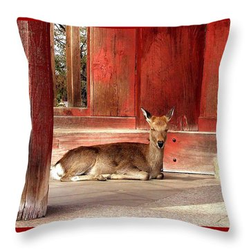 Messenger Of The Gods Throw Pillow