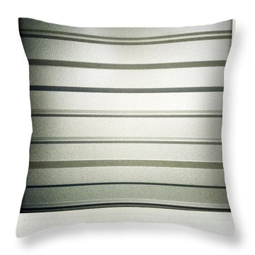 Metal Texture Throw Pillow by Les Cunliffe