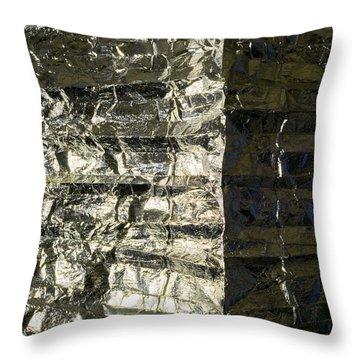 Metallic Reflection Throw Pillow