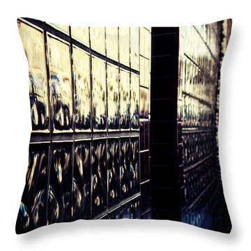 Metallic Reflections Throw Pillow by Melanie Lankford Photography