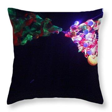 Metamorphosis Throw Pillow by Nina Efk