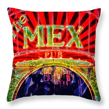 Mex Party Throw Pillow