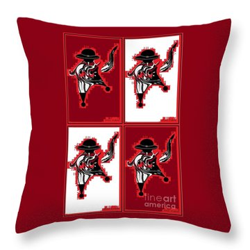 Feista 2 Throw Pillow