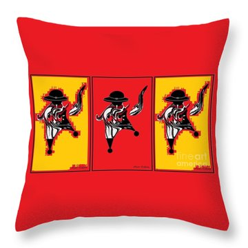 Feista Throw Pillow