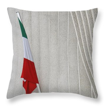 Mexican Embassy In Berlin Throw Pillow