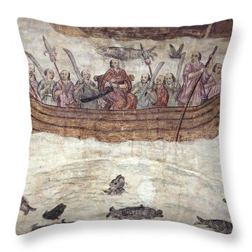 Mexican Missionaries Throw Pillow