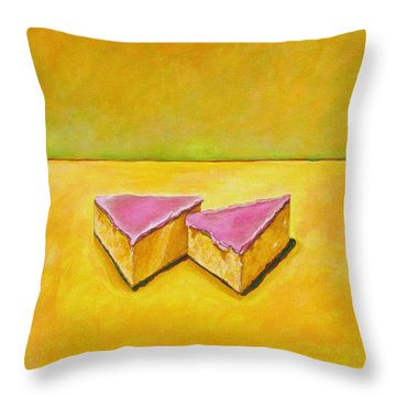 Mexican Pink Cake Throw Pillow by Manny Chapa