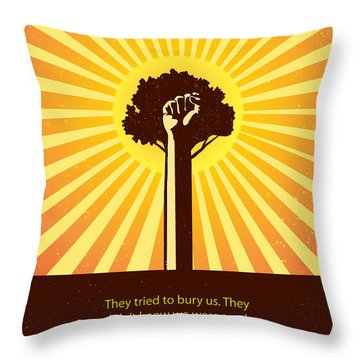 Mexican Proverb Minimalist Poster Throw Pillow