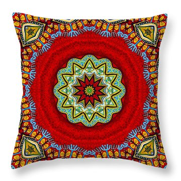 Colors Of Mexico 2 Throw Pillow