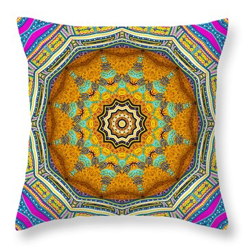 Colors Of Mexico 3 Throw Pillow