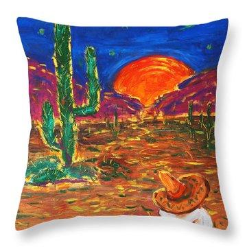 Mexico Impression IIi Throw Pillow