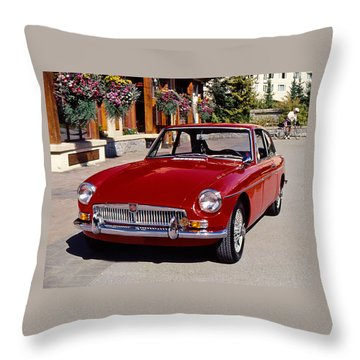 Mgb In Whistler Throw Pillow