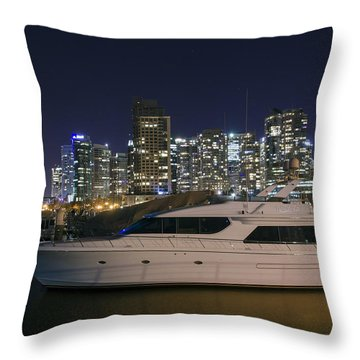 Throw Pillow featuring the photograph Mi Tai Tai  by Ross G Strachan